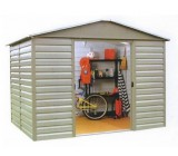 86SL 8ft x 6ft Metal Shed