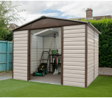 YardMaster 8ft x 6ft Metal Garden Shed 86TBSL