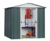 66GEYZ 6ft x 6ft Metal Shed